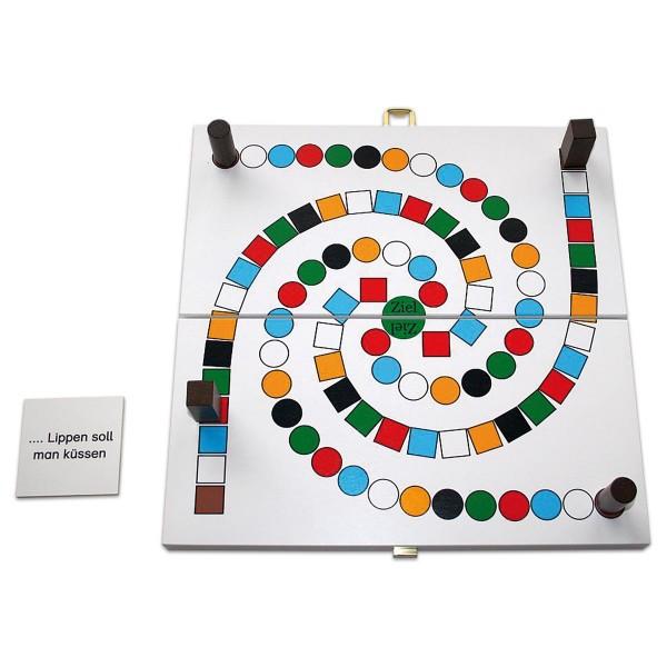 Spiel - LiedSpirale Holz 32x16x5cm