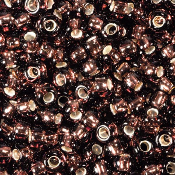 Miyukibeads Silbereinzug Glas 2,2mm 12g amethyst Lochgr. ca. 0,9mm