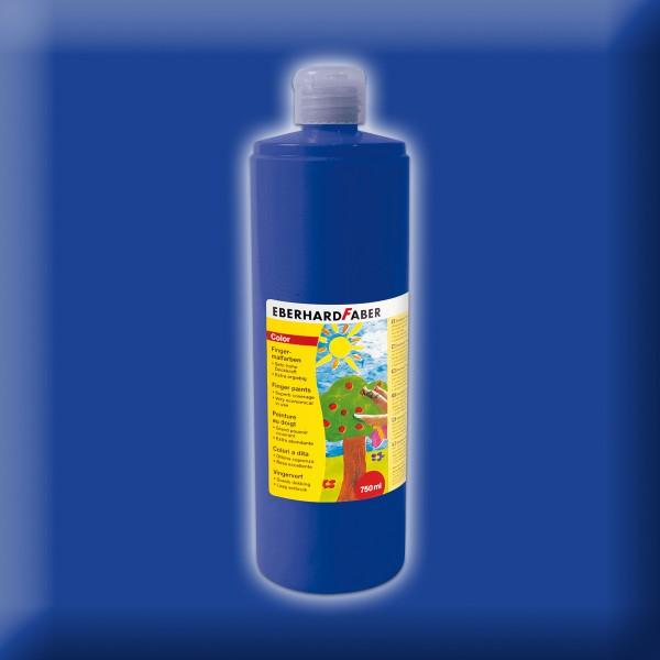 Fingermalfarbe 750ml kobaltblau