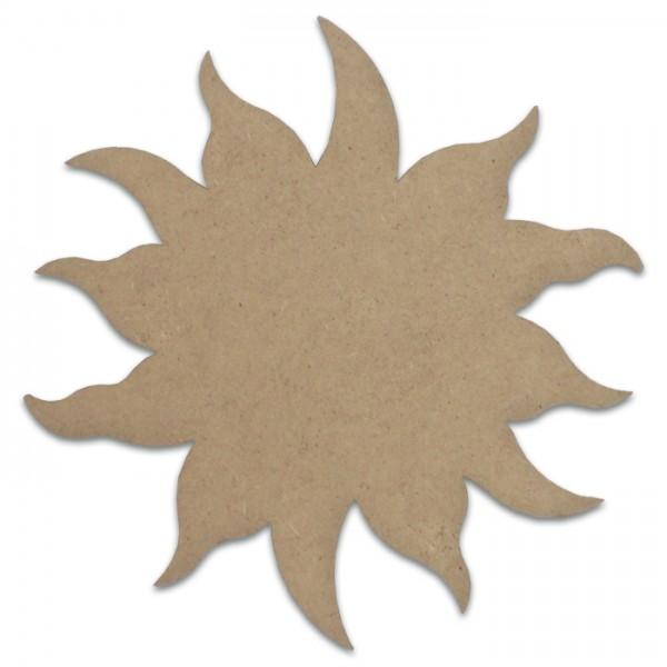 Sonne MDF 3mm 18x18cm