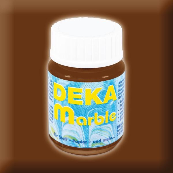 Deka-Marble Marmorierfarbe 25ml braun