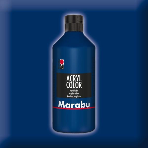 Marabu Acryl Color 500ml dunkelblau