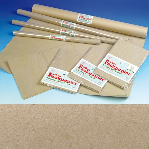 Packpapier 70g/m² 1x10m natur