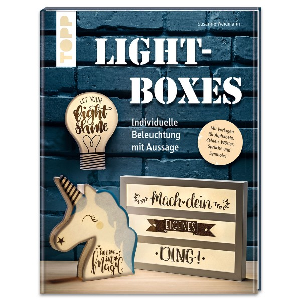 Buch - Lightboxes 64 Seiten, 20x26cm, Softcover