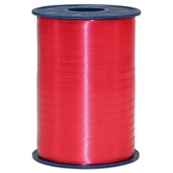 Kräuselband Kunststoff 5mm 500m rot