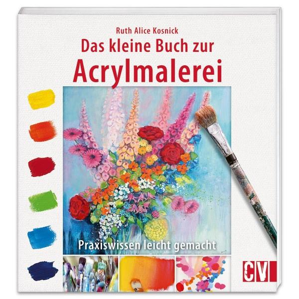 Buch - Das kleine Buch zur Acrylmalerei 48 Seiten, 20x21,5cm, Softcover