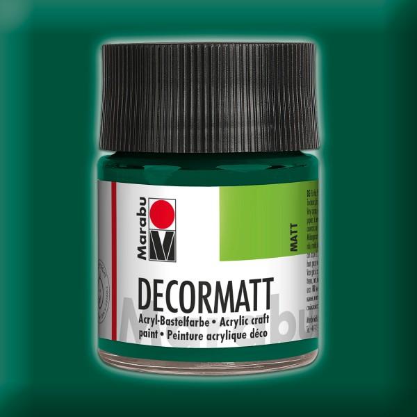 Decorlack Acryl matt 50ml dunkelgrün