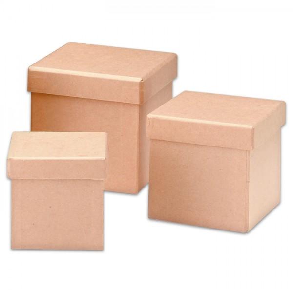 Pappschachtel Würfel 10,2x10,2x10,2cm