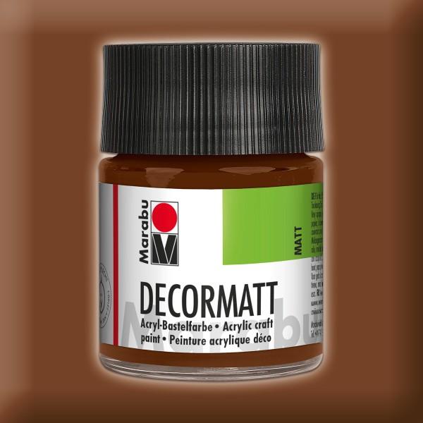 Decorlack Acryl matt 50ml hellbraun