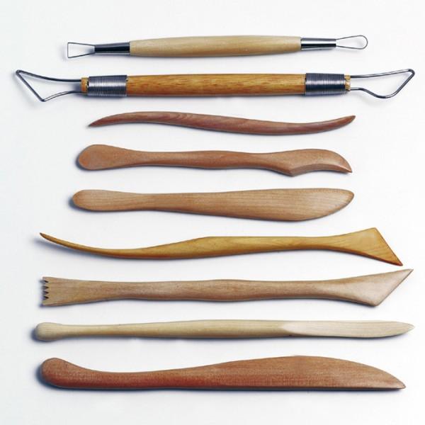 Keramikwerkzeugsatz 9-teilig 14-22cm
