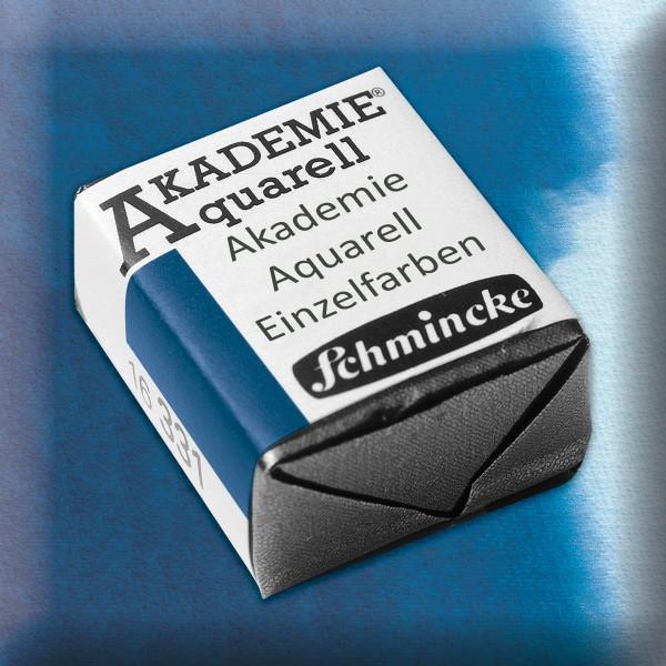 Akademie Aquarell 1,6ml preußischblau ½ Näpfchen