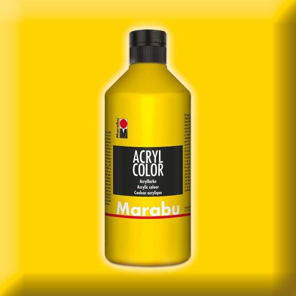 Marabu Acryl Color 500ml gelb