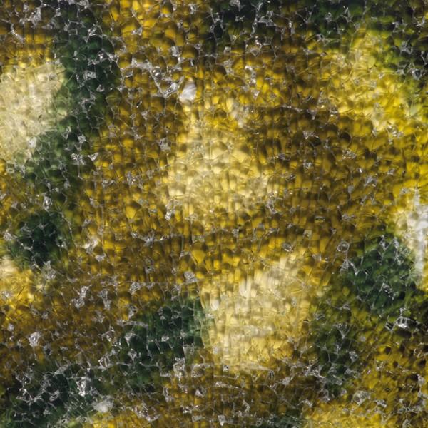 Safety-Glasplatte ca.3mm 15x20cm grün marmoriert