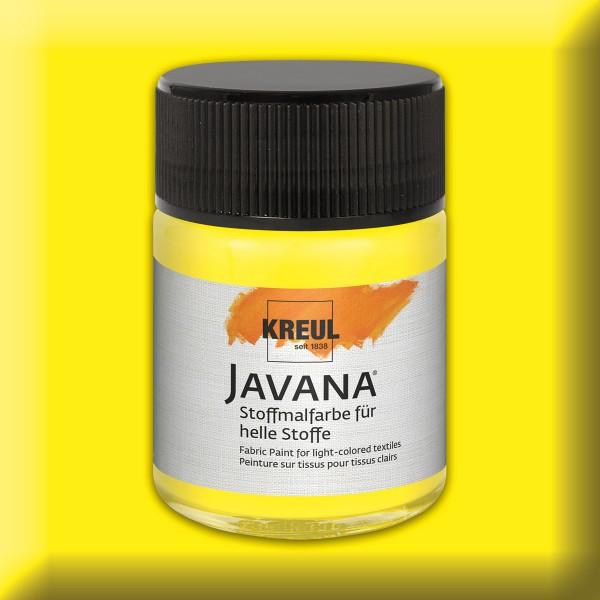 Javana Stoffmalfarbe helle Stoffe 50ml citron