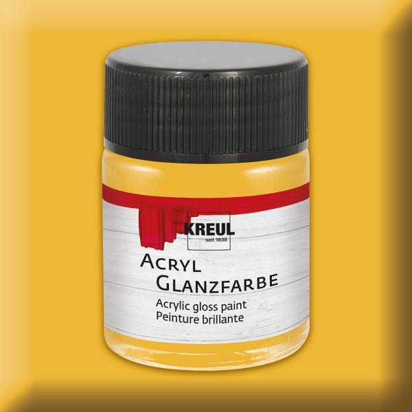 KREUL Acryl-Glanzfarbe 50ml gold