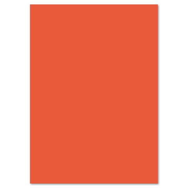 Tonkarton 220g/m² DIN A4 100 Bl. orange