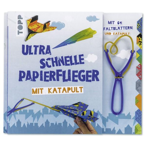 Buch - Ultra schnelle Papierflieger mit Katapult 144 Seiten, 19,2x24,5cm, Softcover, ab 7 Jahren