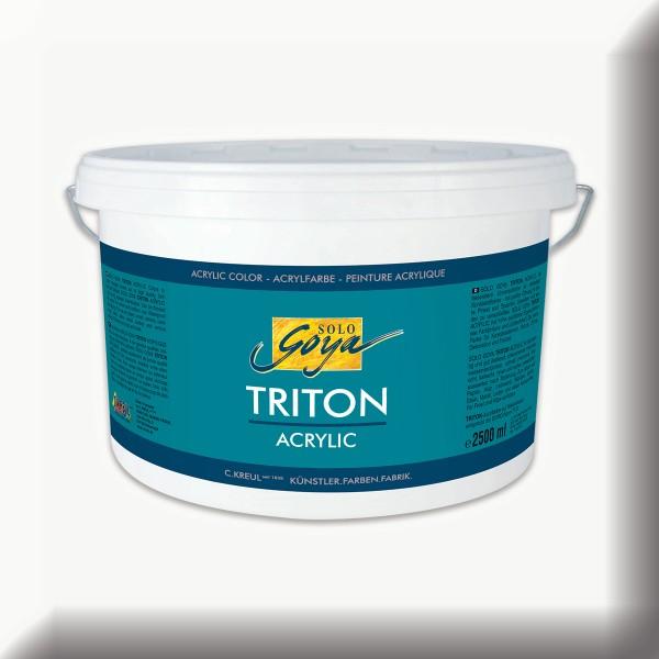 Triton Acrylfarbe 2.500ml weiß