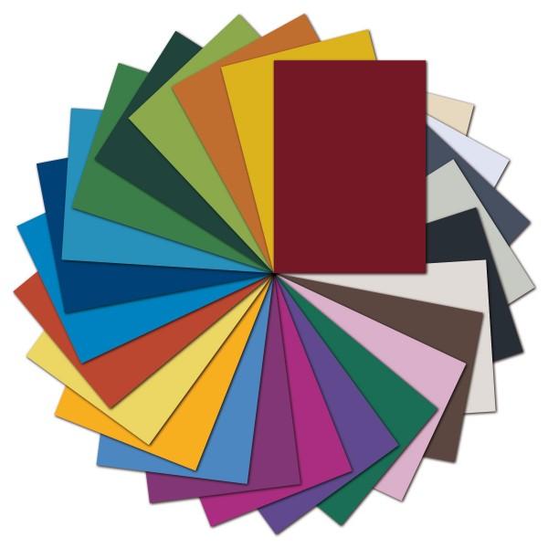 Tonpapier 130g/m² DIN A4 500 Bl./25 Farben