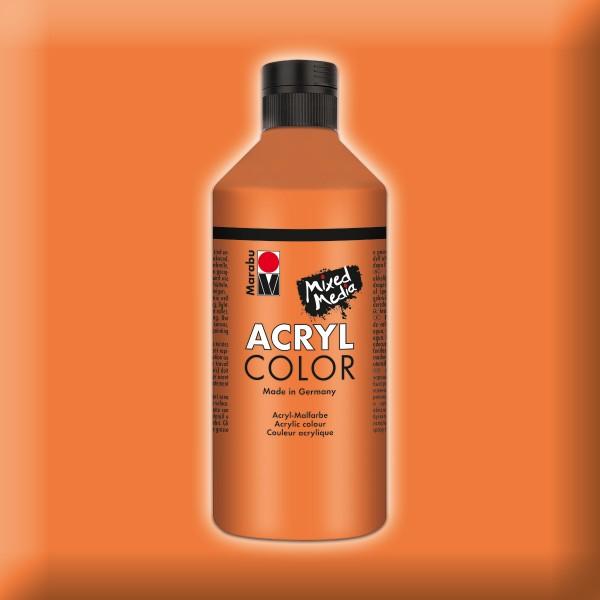 Marabu Acryl Color 500ml orange