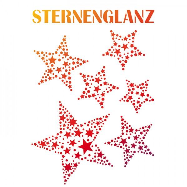 Universal-Schablone DIN A4 Sternenglanz Kunststoff