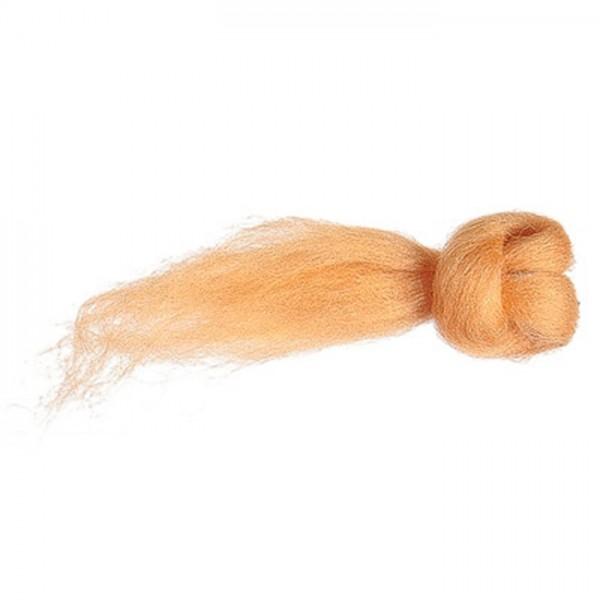 Kammzugwolle Merino 50g apricot 100% Wolle vom australischen Merinoschaf, max. 19mic