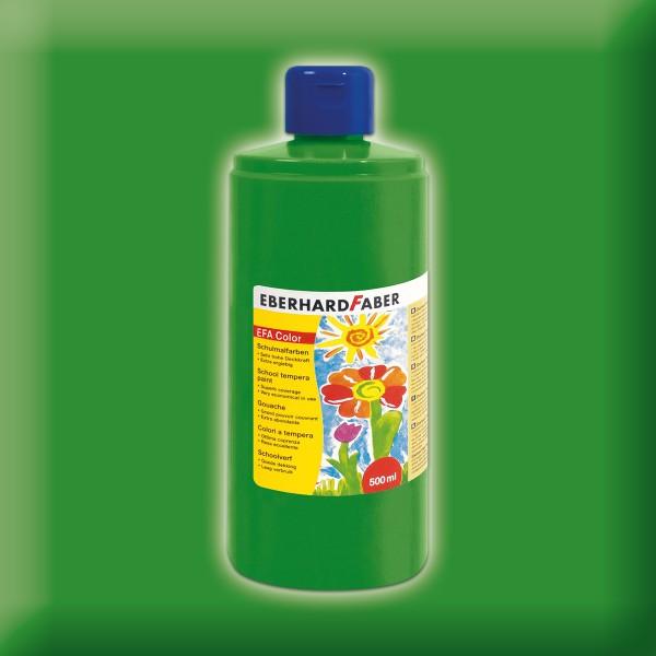 Color-Schulmalfarbe 500ml laubgrün