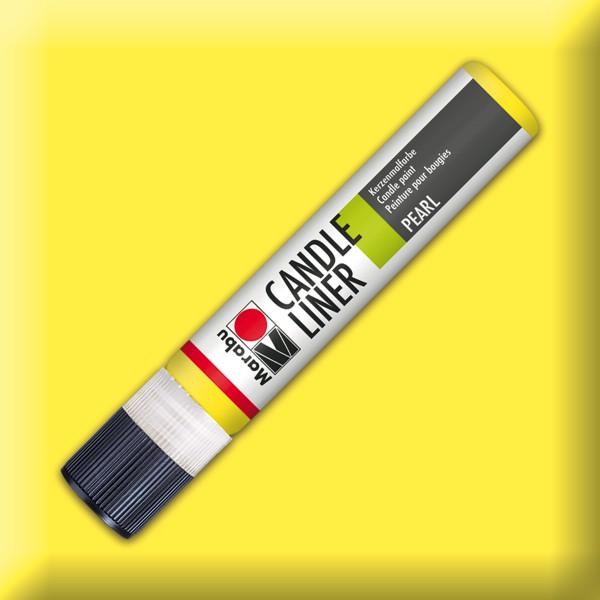Candle Liner 25ml Kerzenmalfarbe gelb Wasserbasis