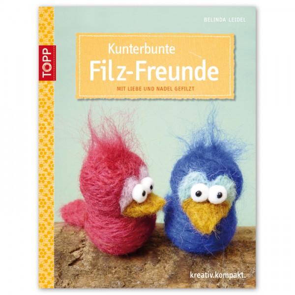 Buch - Kunterbunte Filz-Freunde 32 Seiten, 17x22cm, Softcover