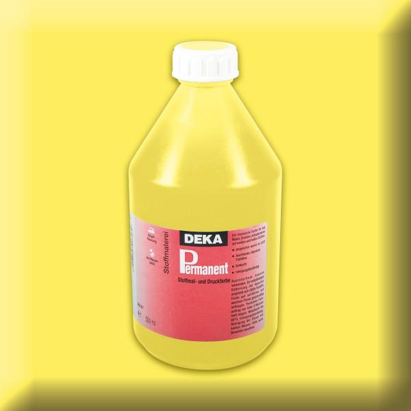 Deka-Permanent Stoffmalfarbe 500ml zitron