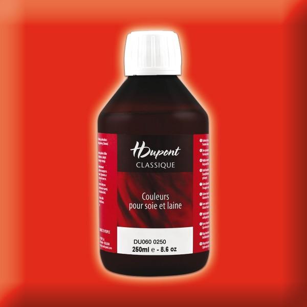 H.Dupont Classique 250ml Windsor/Windsor-rot Seidenmalfarbe, Dampffixierung