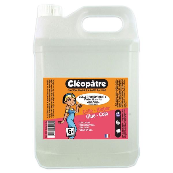 Colle Transparente Papierkleber Vorteilspack 5kg inkl. Dosierpumpe lösemittel-, säure-&formaldehydfr