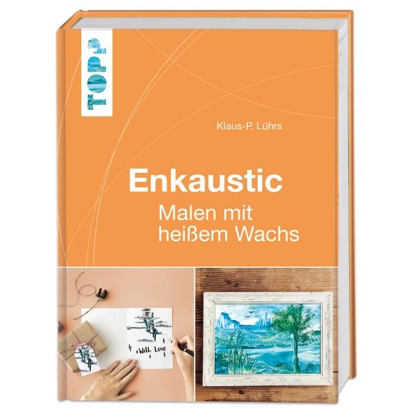 Buch - Enkaustic - Malen mit heißem Wachs 160 Seiten, 17,5x24cm, Hardcover