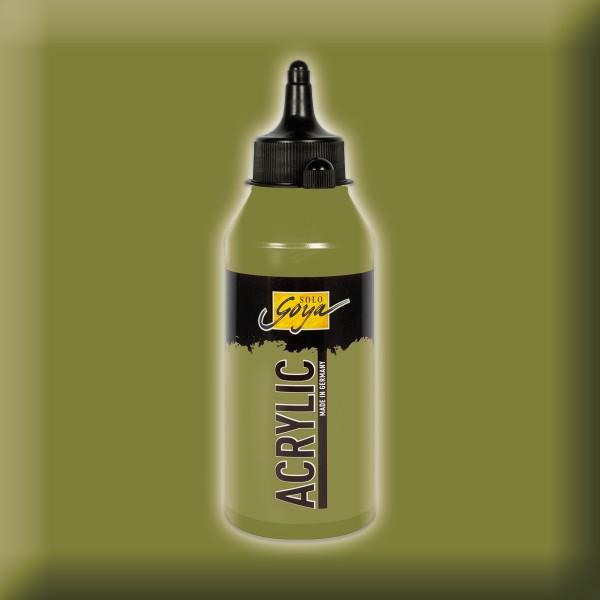 SOLO GOYA Acrylic 250ml grüne erde Acrylfarbe