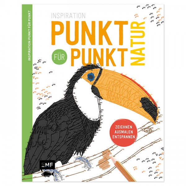 Buch - Inspiration Punkt für Punkt - Natur 80 Seiten, 28,7x23cm, Softcover