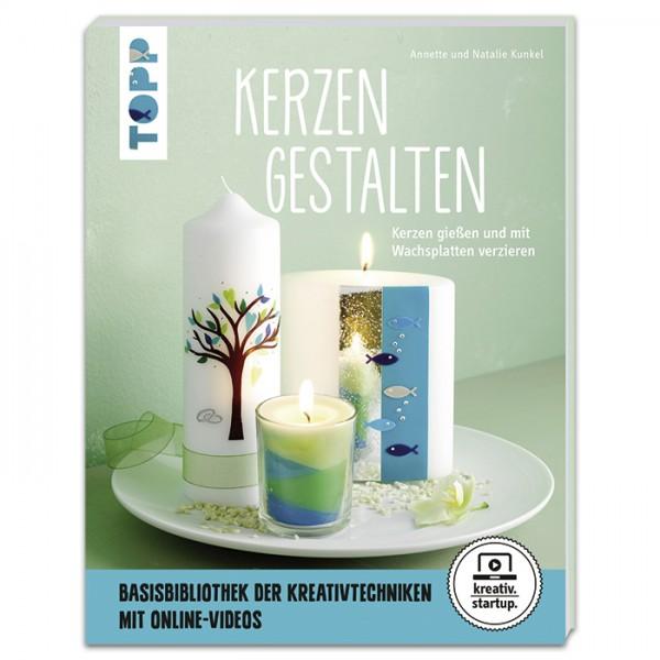 Buch - Kerzen gestalten 64 Seiten, 16,9x22cm, Softcover
