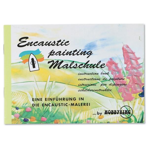 Buch - Encaustic Malschule 23 Seiten, DIN A5, Softcover