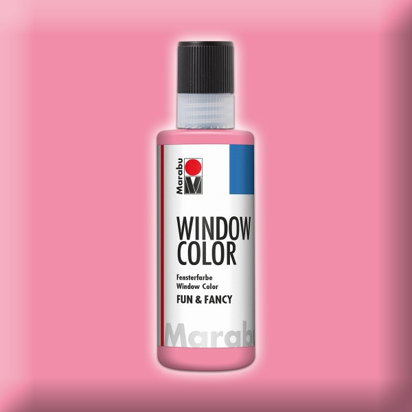 Marabu fun&fancy 80ml hellrosa Windowcolor