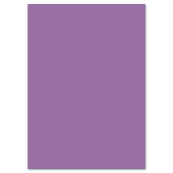 Tonkarton 220g/m² 50x70cm 25 Bl. flieder