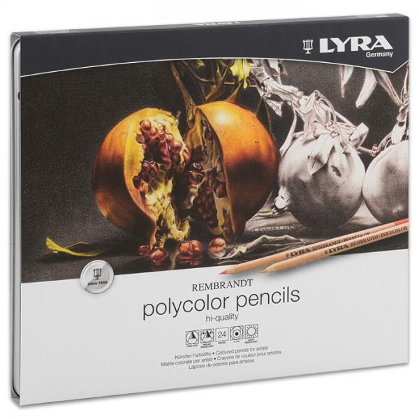 Rembrandt Polycolor Künstler-Farbstifte 24 Farben