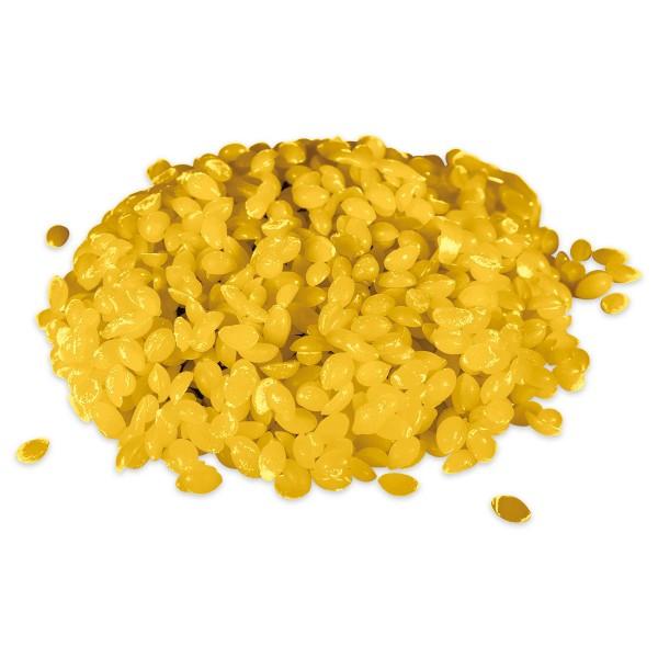 Wachsfarbe 100g Beutel goldgelb