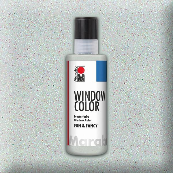 Marabu fun&fancy 80ml glitter eis Windowcolor