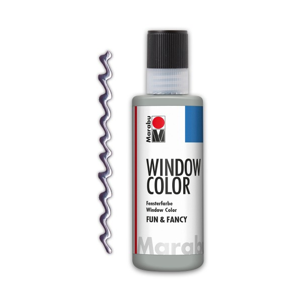 Marabu fun&fancy 80ml Kontursilber Windowcolor