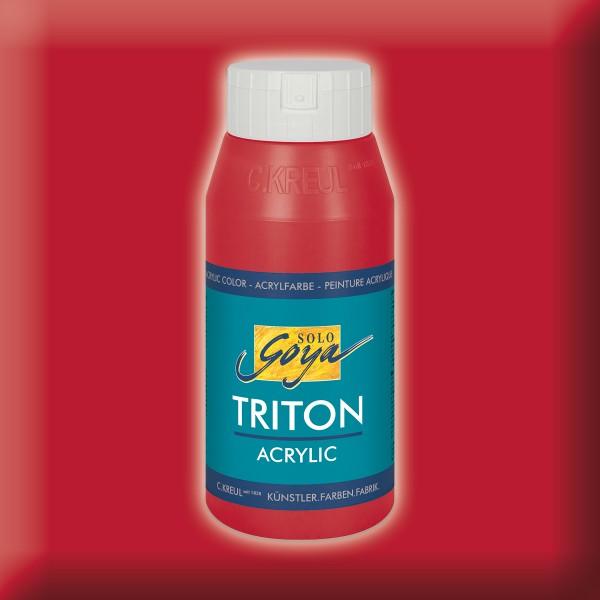 Triton Acrylfarbe 750ml karmin