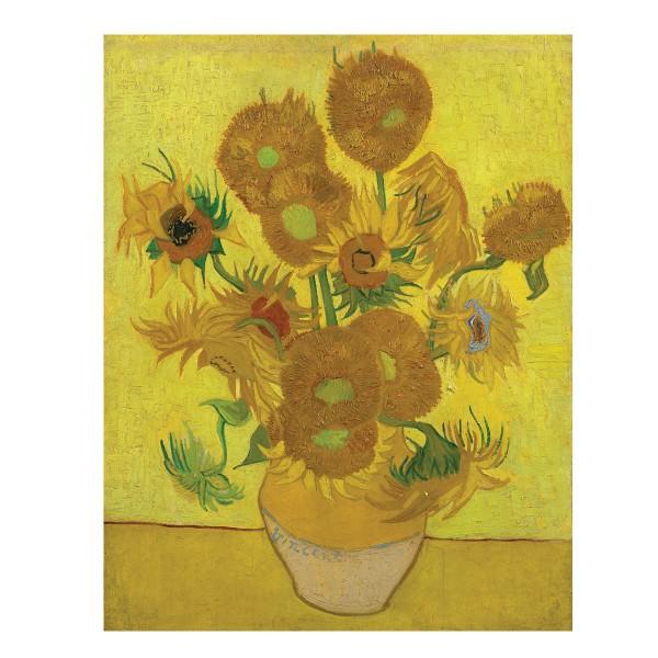 Malen auf Keilrahmen Sunflowers - Vincent Van Gogh ca. 27,9x35,5x1,9cm