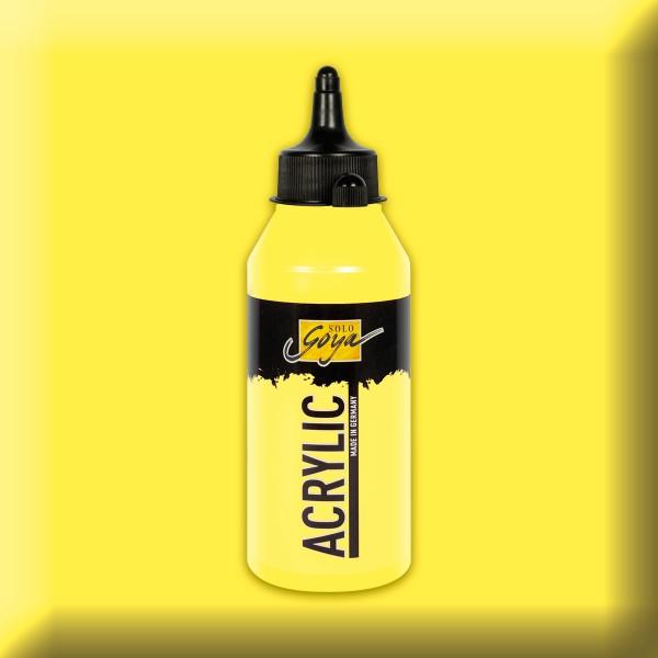 SOLO GOYA Acrylic 250ml zitron Acrylfarbe