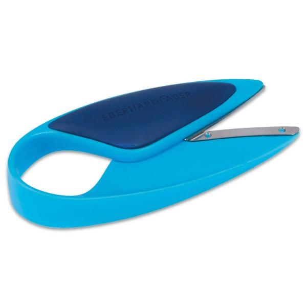 Kinderschere ca. 12cm blau Metall/Kunststoff