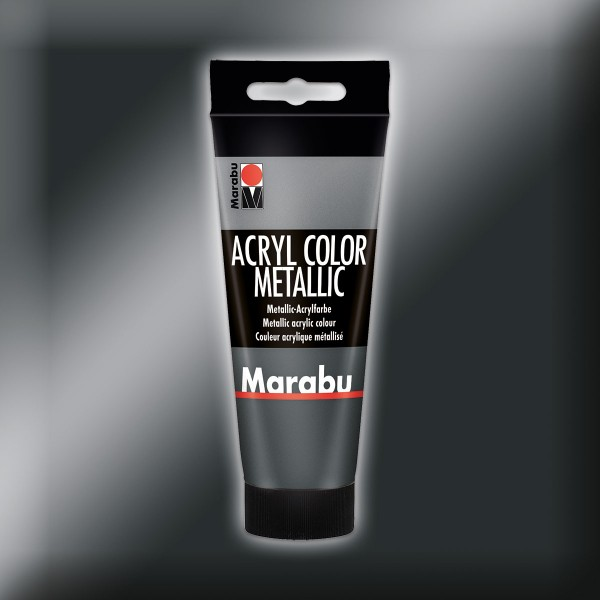 Marabu Acryl Color 100ml metallic-anthrazit