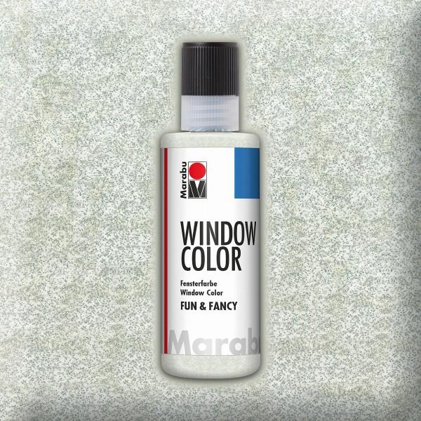 Marabu fun&fancy 80ml glitter silber Windowcolor