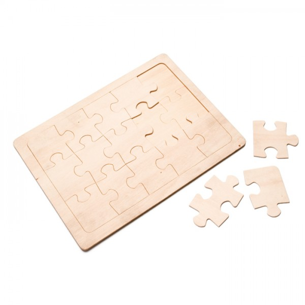Holz-Puzzle 15-teilig 245x185mm